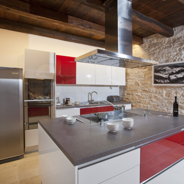 Kitchen, Villa Stancija Groznjan, Vacation villas, apartments and hotels in Croatia - Charming Croatia  - Apartmanica