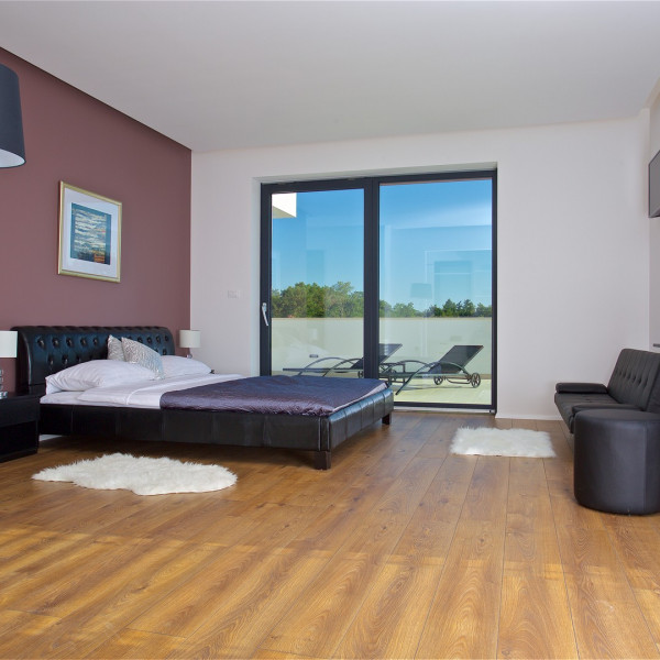 Bedrooms, Villa Aria, Charming Croatia  - Apartmanica