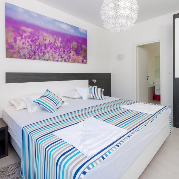 Bedrooms, Villa Lokva Rogoznica Perle, Vacation villas, apartments and hotels in Croatia - Charming Croatia  - Apartmanica