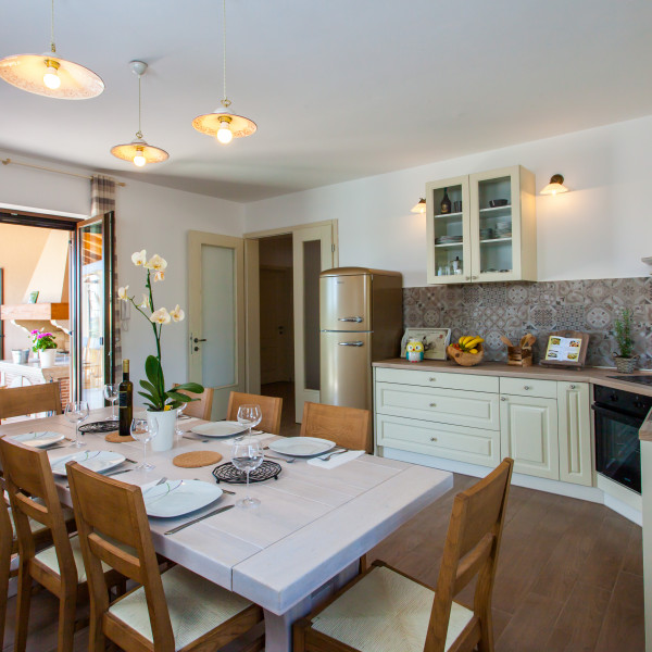 Kitchen, Villa Roza, Charming Croatia  - Apartmanica