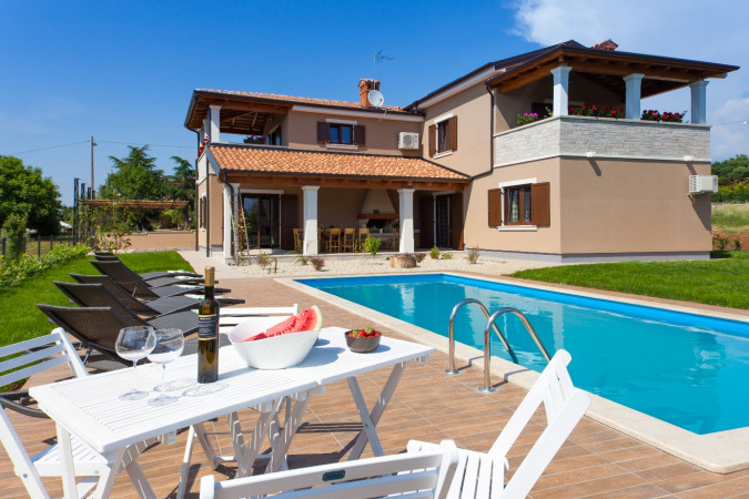 Villa Roza, Villas with pool, holiday houses and hotels in Croatia - Charming Croatia