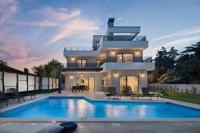 Villa K, Villas with pool, holiday houses and hotels in Croatia - Charming Croatia