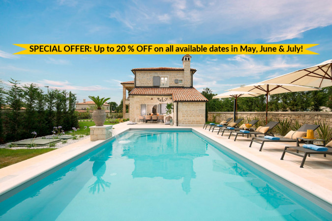 Villa Zoe, Vacation villas, apartments and hotels in Croatia - Charming Croatia