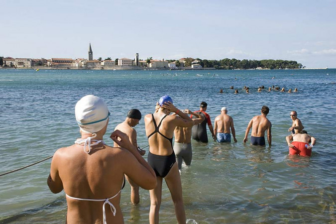 Porec Dolphin Open Water Swimming Festival, Vacation villas, apartments and hotels in Croatia - Charming Croatia  - Apartmanica