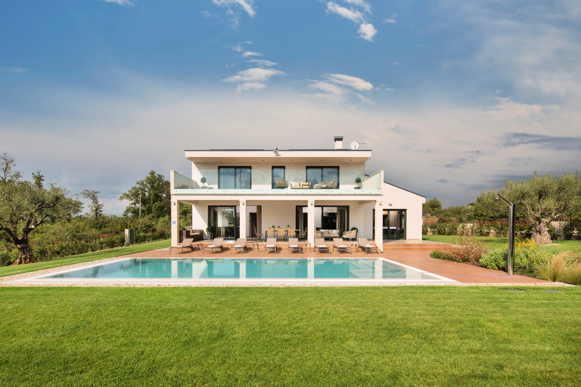 Villa of the week- Villa Gianno near Porec, Villas with pool, holiday houses and hotels in Croatia - Charming Croatia